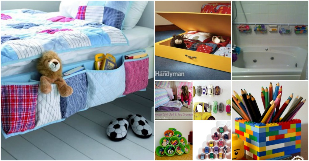 50 Clever Diy Storage Ideas To Organize Kids Rooms Diy Crafts