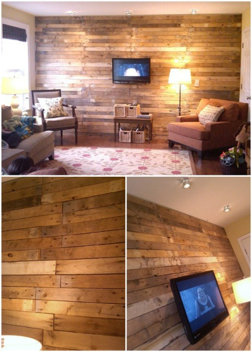 Astonishing 15 Creatively Genius Diy Wood Walls Diy Crafts Best Image Libraries Thycampuscom