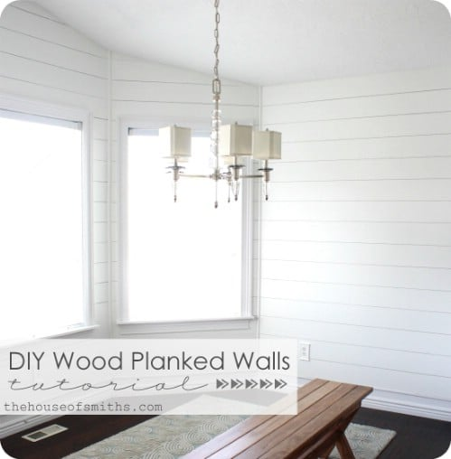 White Plank Wall