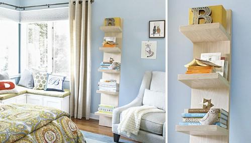 Leaning Shelf