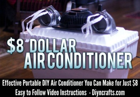 Portable DIY Air Conditioner