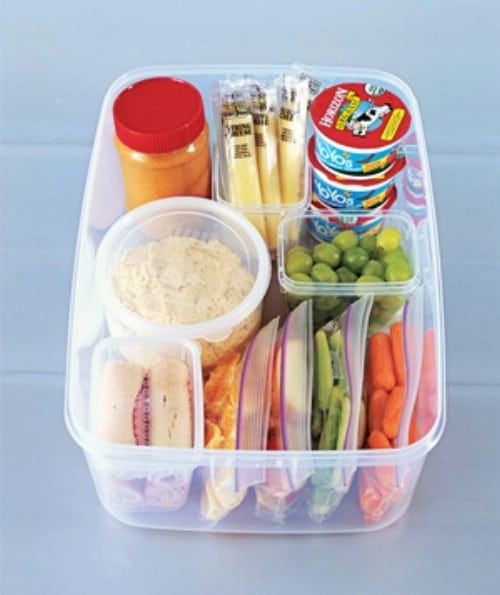 Create a Snack Station