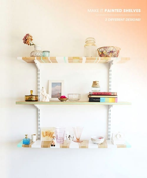 Great Painted Shelves