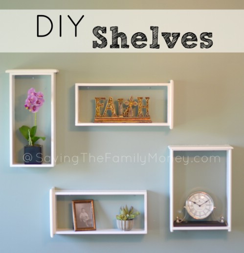 Easy DIY Window Box Shelves