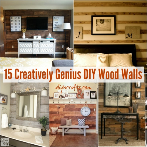 Cool 15 Creatively Genius Diy Wood Walls Diy Crafts Best Image Libraries Thycampuscom