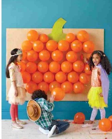 Pumpkin Balloon Game