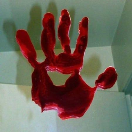 Bloody Handprints