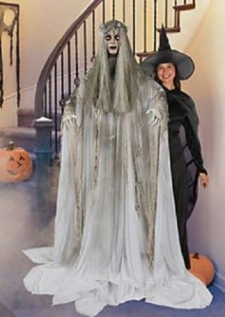 Life-Size Female Ghost