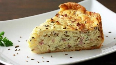 German Onion and Bacon Pie