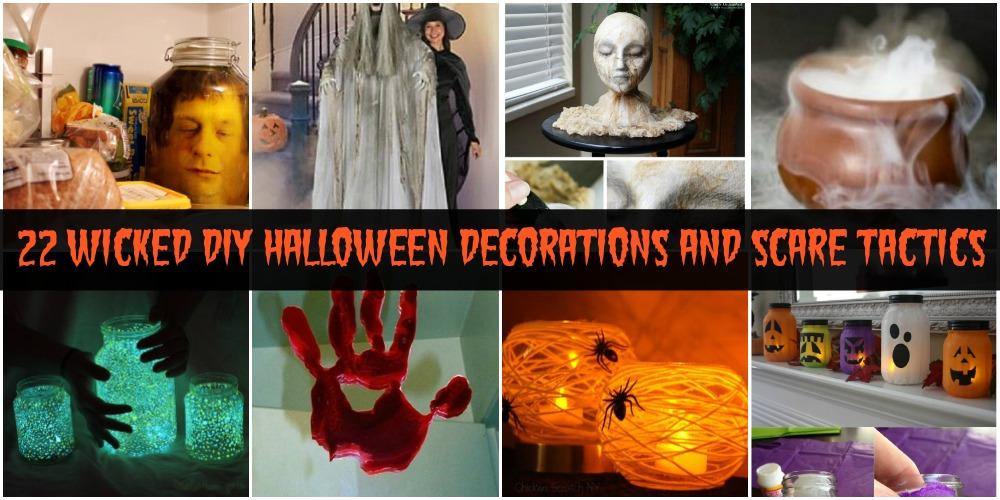22 Wicked DIY Halloween Decorations And Scare Tactics , DIY