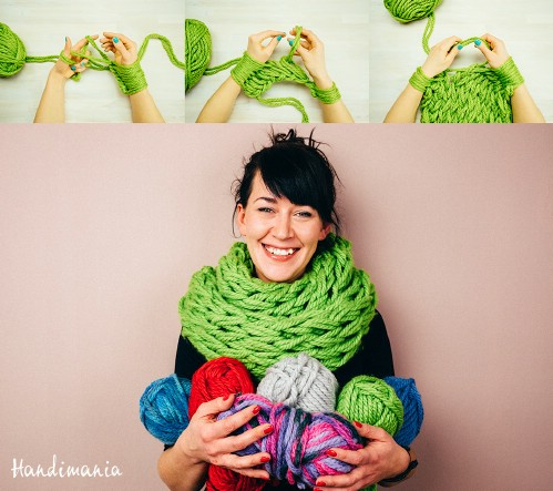 23 Insanely Clever Arm Knitting Projects And Techniques Diy Crafts
