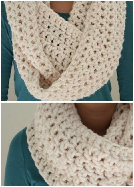 26 Cozy DIY Infinity Scarves With Free Patterns and ...