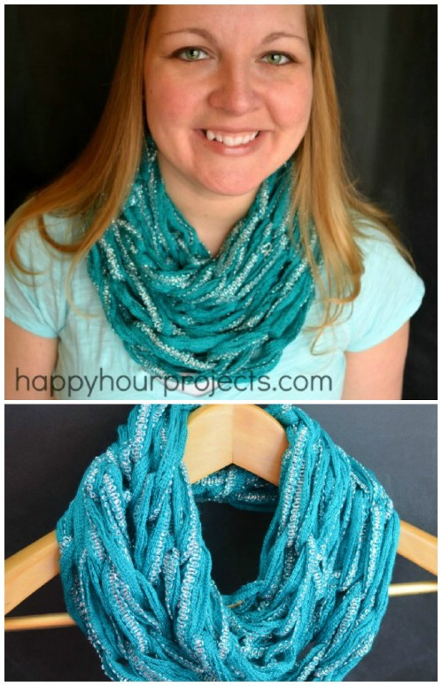 A Thinner, Lighter Scarf