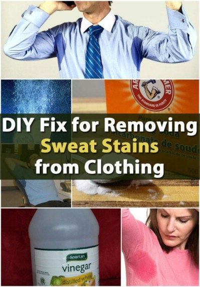 Get those unsightly stains out of your whites.