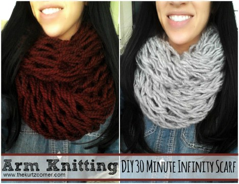 30-minute infinity scarf