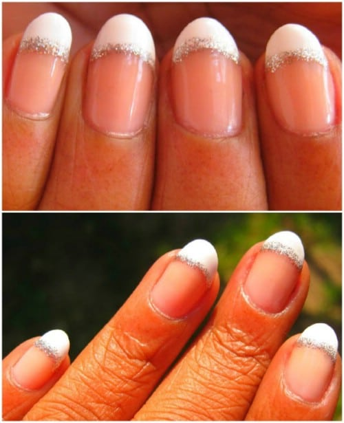 French Mani Touch Up