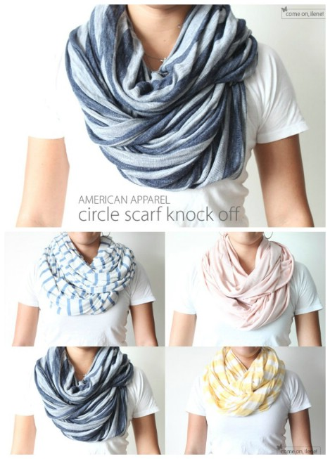 American Apparel knockoff infinity scarf