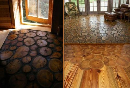 End Grain Wood Flooring