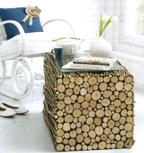 Log Pile Table
