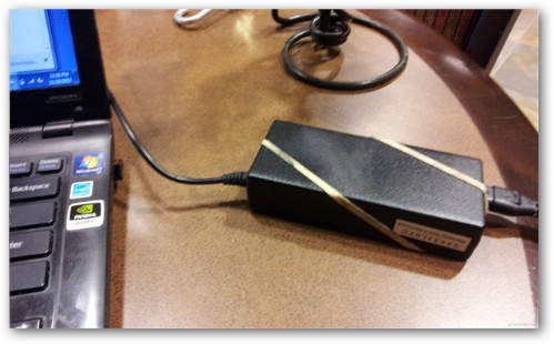 Keep Your Power Cord from Slipping