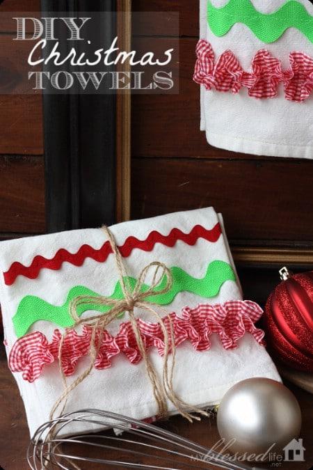 Embellished Kitchen Towels