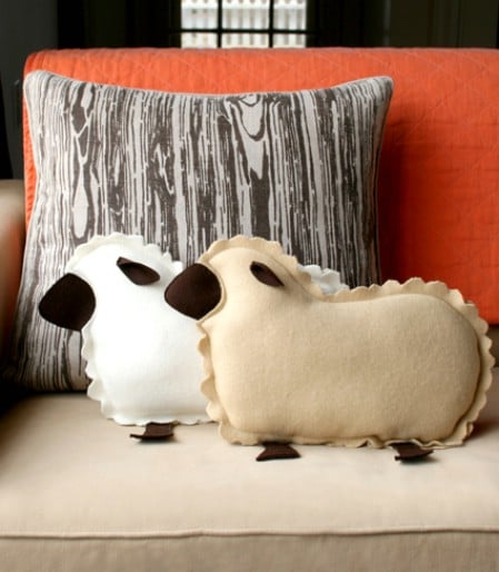 Lamb Pillows