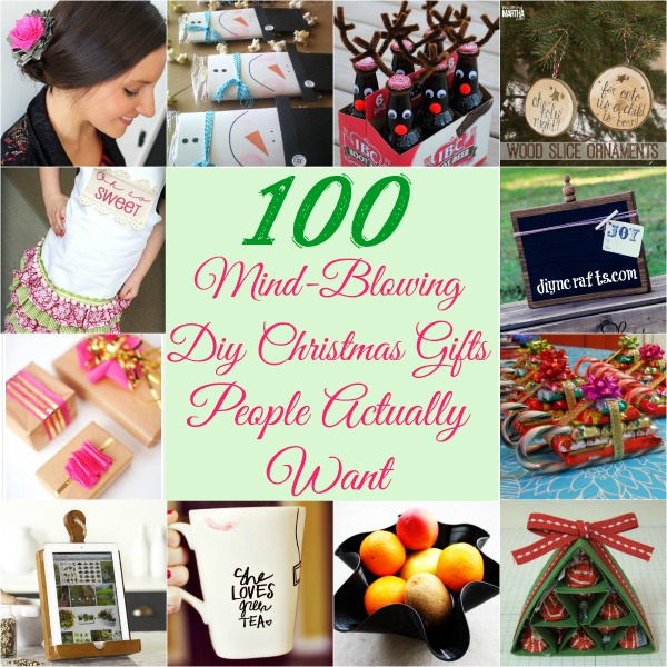 Homemade Christmas Gifts Ideas.100 Mind Blowing Diy Christmas Gifts People Actually Want
