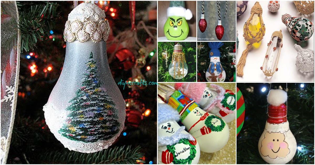 10 Insanely Easy Christmas Light Bulb
