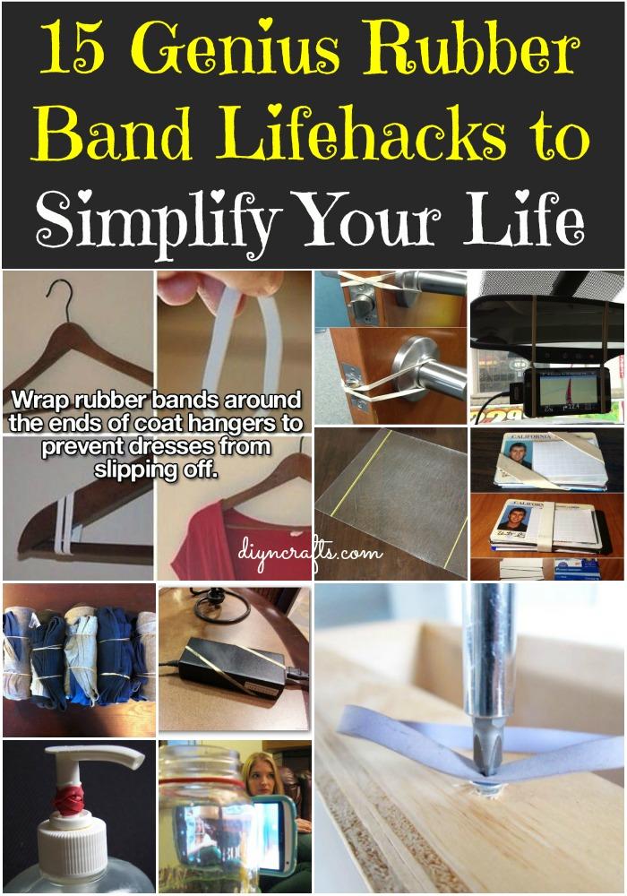 15 Genius Rubber Band Lifehacks to Simplify Your Life