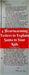 graphic relating to Printable Letter Explaining Santa titled 4 Heartwarming Letters in direction of Reveal Santa in direction of Your Children - Do it yourself