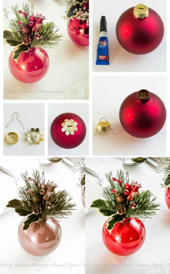 21 Beautifully Festive Christmas Centerpieces You Can Easily