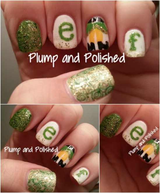 Christmas Nails Elf: 20 Fantastic DIY Christmas Nail Art Designs That Are