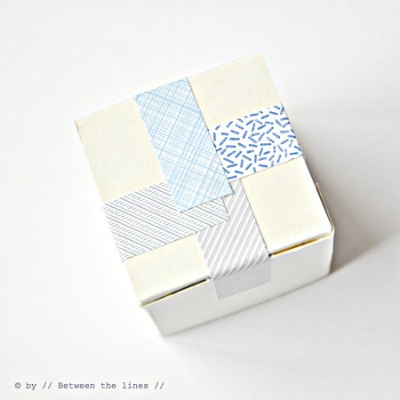 Up-cycle patterned envelopes.