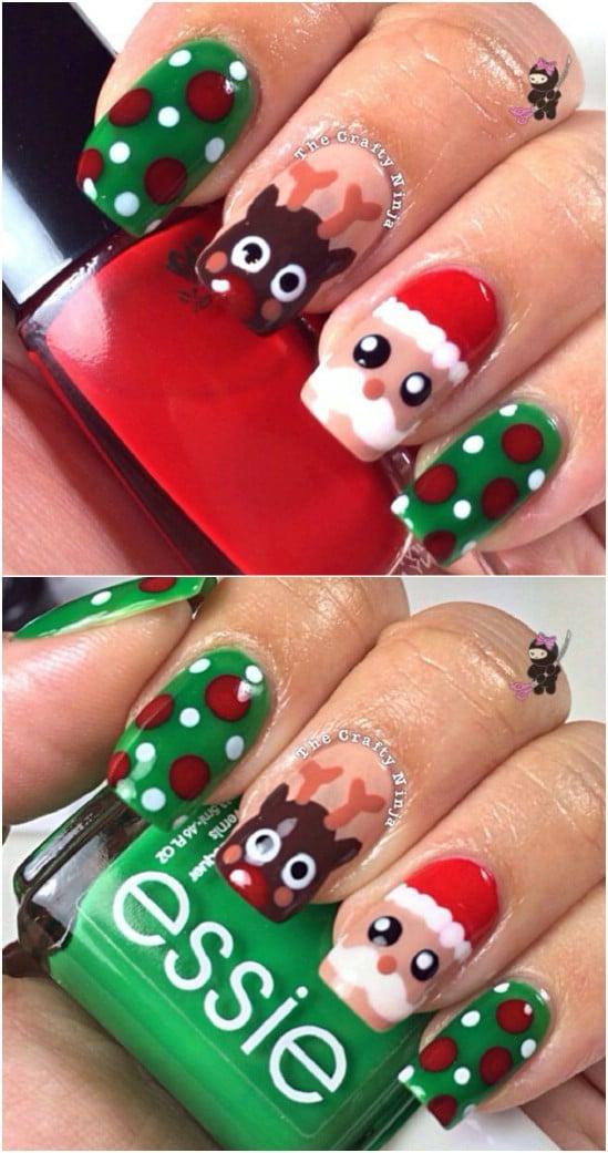 Christmas Nail Designs.20 Fantastic Diy Christmas Nail Art Designs That Are