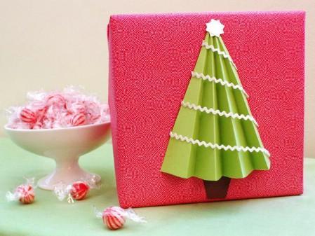 3d Paper Christmas tree.