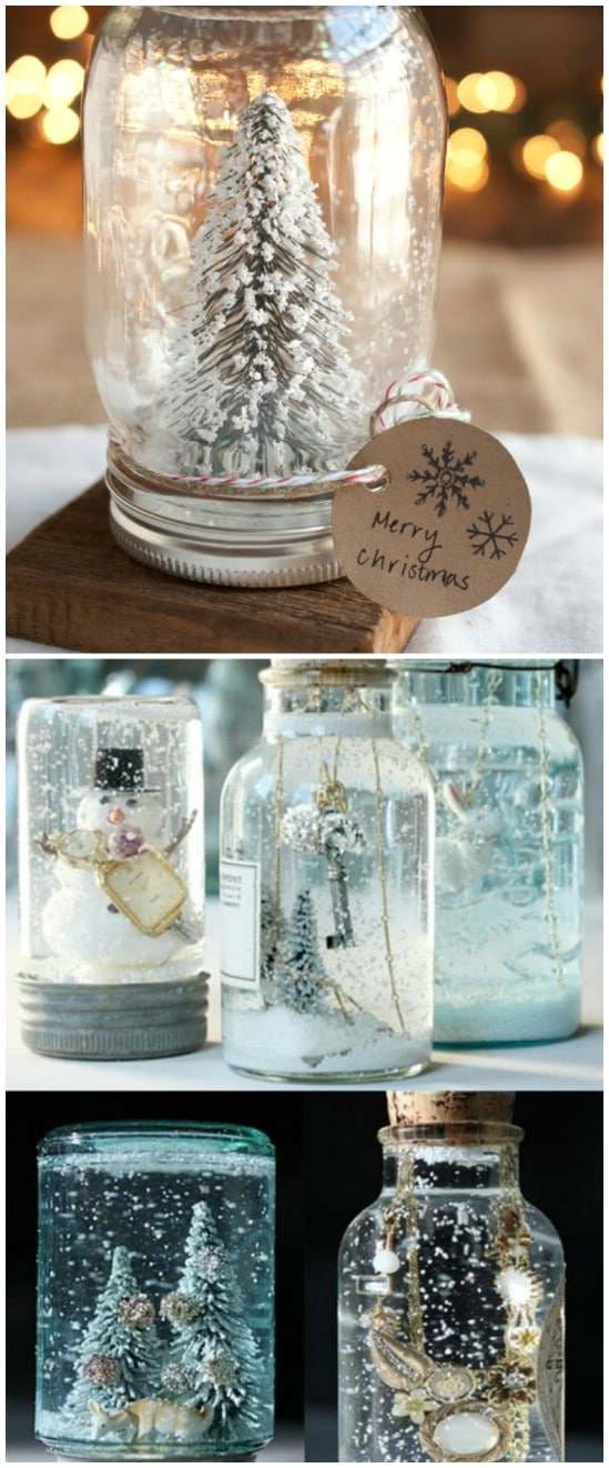 12 Magnificent Mason Jar Christmas Decorations You Can Make Yourself Diy Crafts