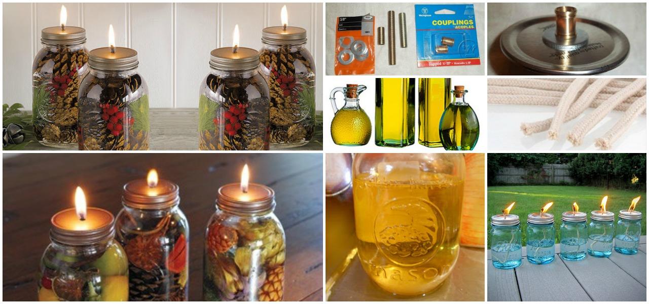 Fabulous Diy Scented Mason Jar Oil Candles Diy Crafts