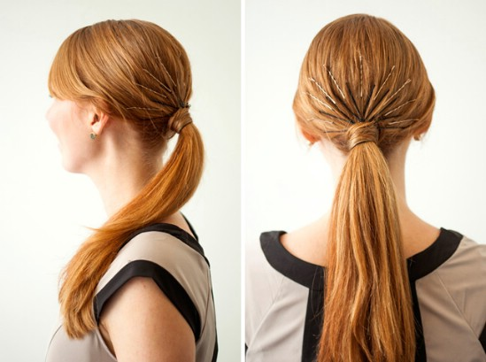 Starburst - 21 Unexpectedly Stylish Ways to Wear Bobby Pins