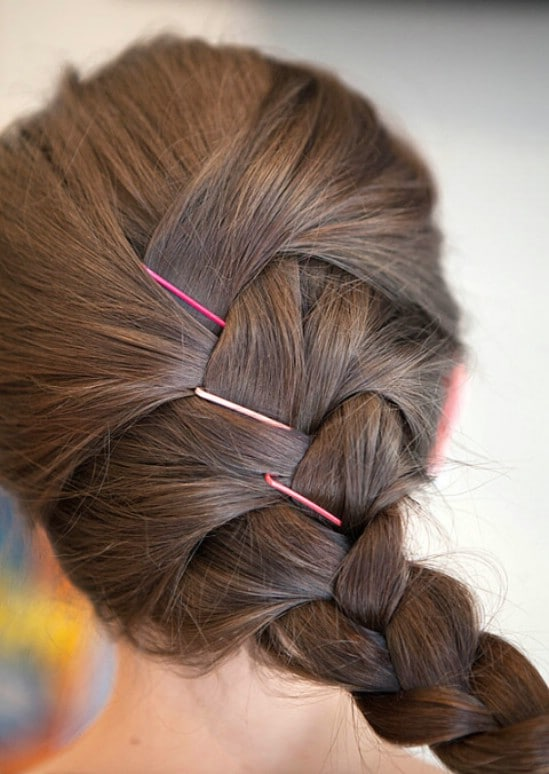 Secure Your Braid - 21 Unexpectedly Stylish Ways to Wear Bobby Pins