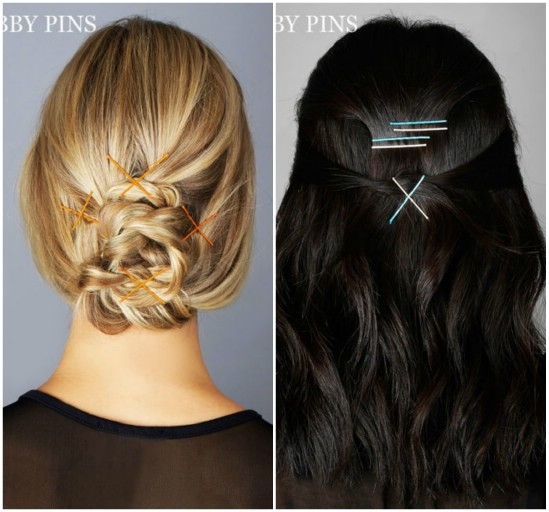 'X' Marks the Spot - 21 Unexpectedly Stylish Ways to Wear Bobby Pins