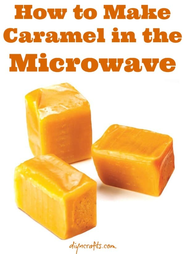 Kitchen Quickie: Easiest Recipe for Soft Caramel Made in a Microwave {Video Recipe}