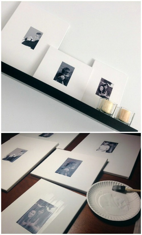 Canvas Frames - 20 Cleverly Creative Ways to Display Your Cherished Photos