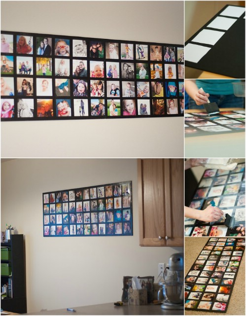 Photo Collage - 20 Cleverly Creative Ways to Display Your Cherished Photos