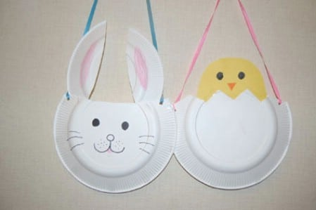 More fun paper plate crafts.