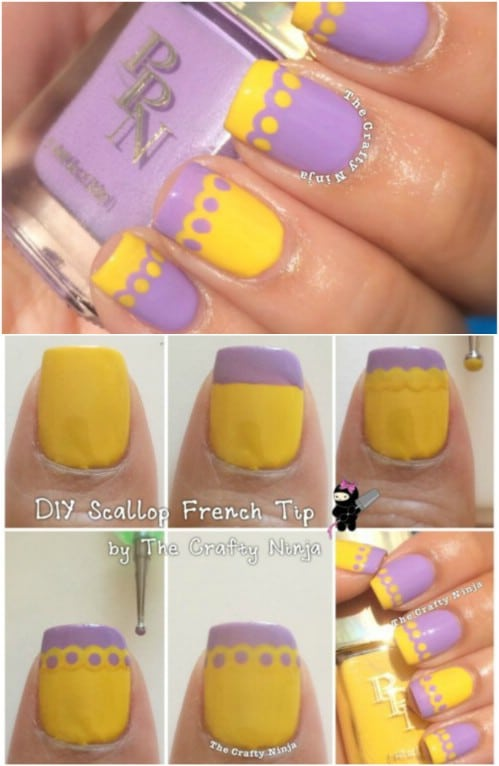 Scalloped Tips