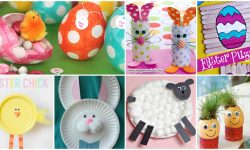 58 Fun and Creative Easter Crafts for Kids and Toddlers