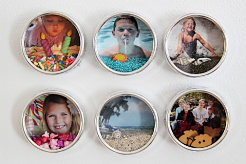 Shadowbox Magnets - 20 Cleverly Creative Ways to Display Your Cherished Photos