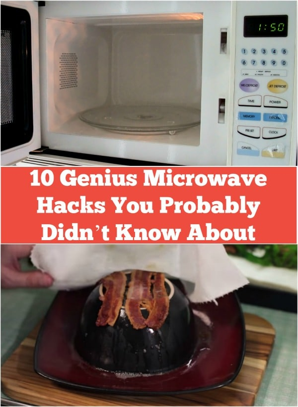10 Genius Microwave Hacks You Probably Didn't Know About