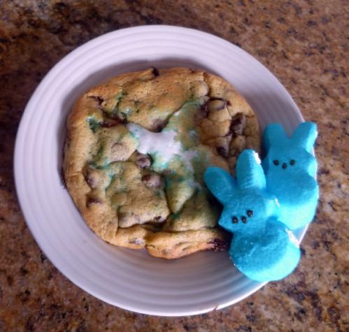 Peep-Choc Cookies