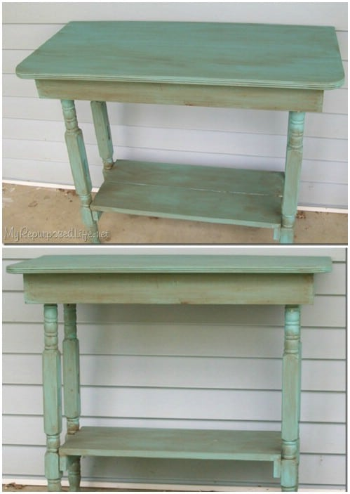 Table - 20 Delightfully Creative and Functional Ways to Repurpose Old Cribs